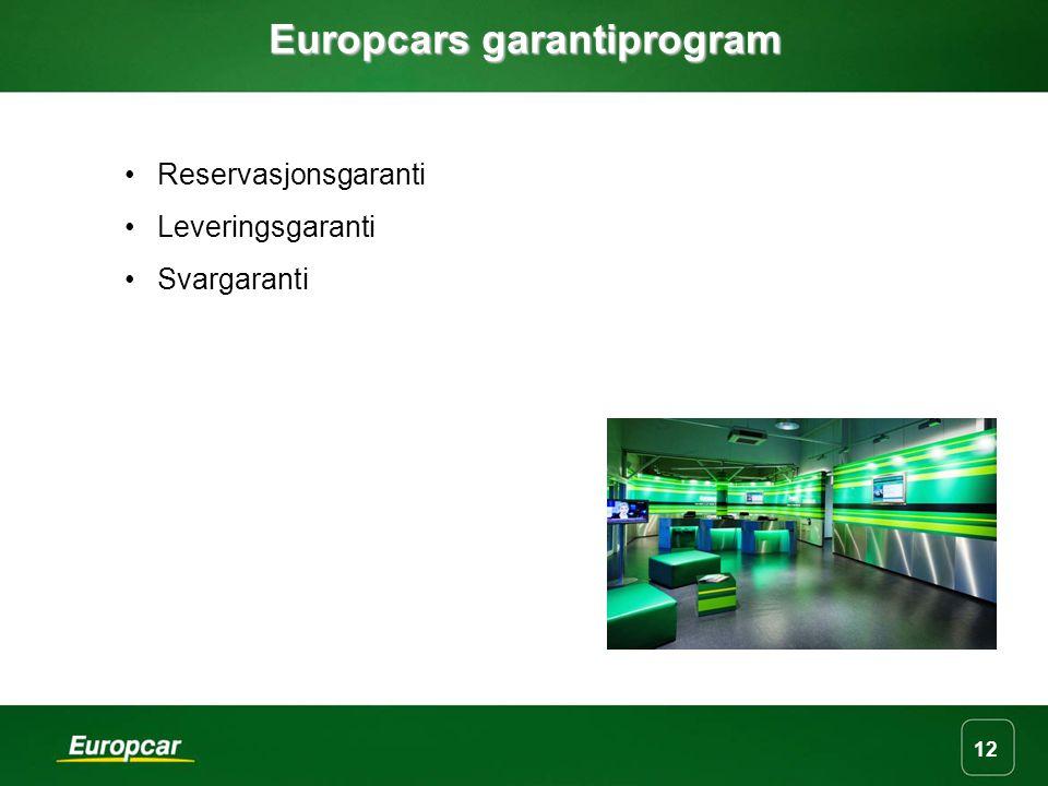 Europcars garantiprogram