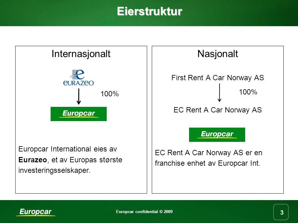 Europcar confidential © 2009