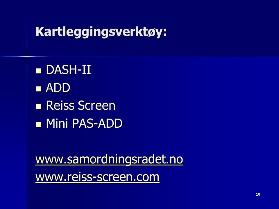 Kartleggingsverktøy: