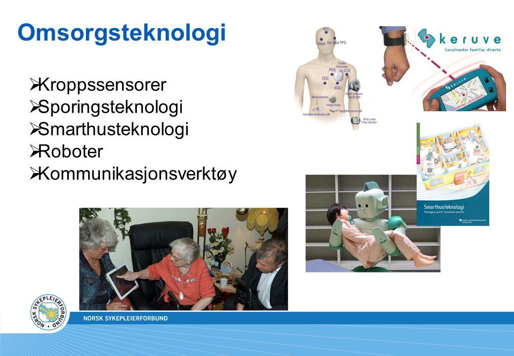 Omsorgsteknologi Kroppssensorer Sporingsteknologi Smarthusteknologi