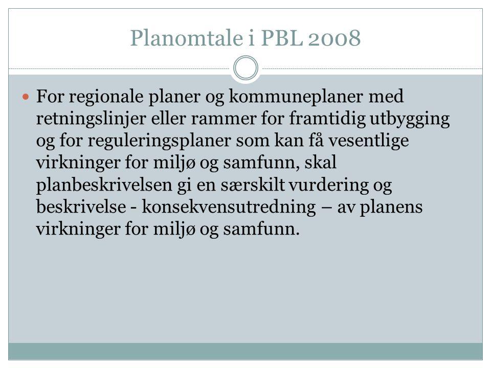 Planomtale i PBL 2008