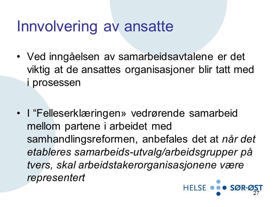 Innvolvering av ansatte