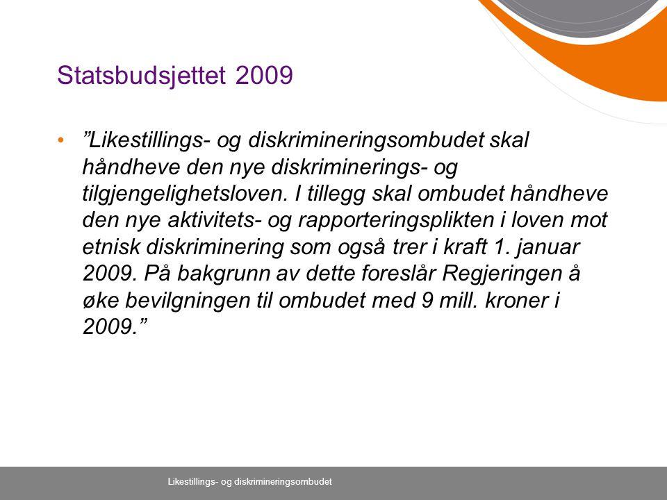Statsbudsjettet 2009