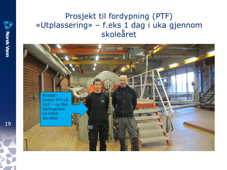 Prosjekt til fordypning (PTF) «Utplassering» – f