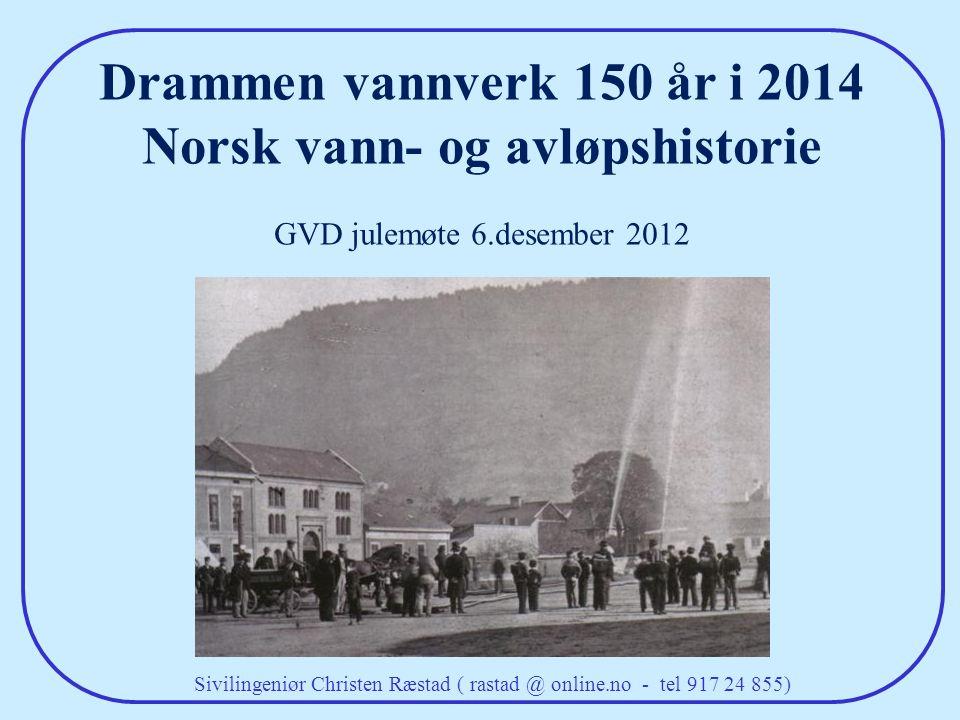 Norsk vann- og avløpshistorie