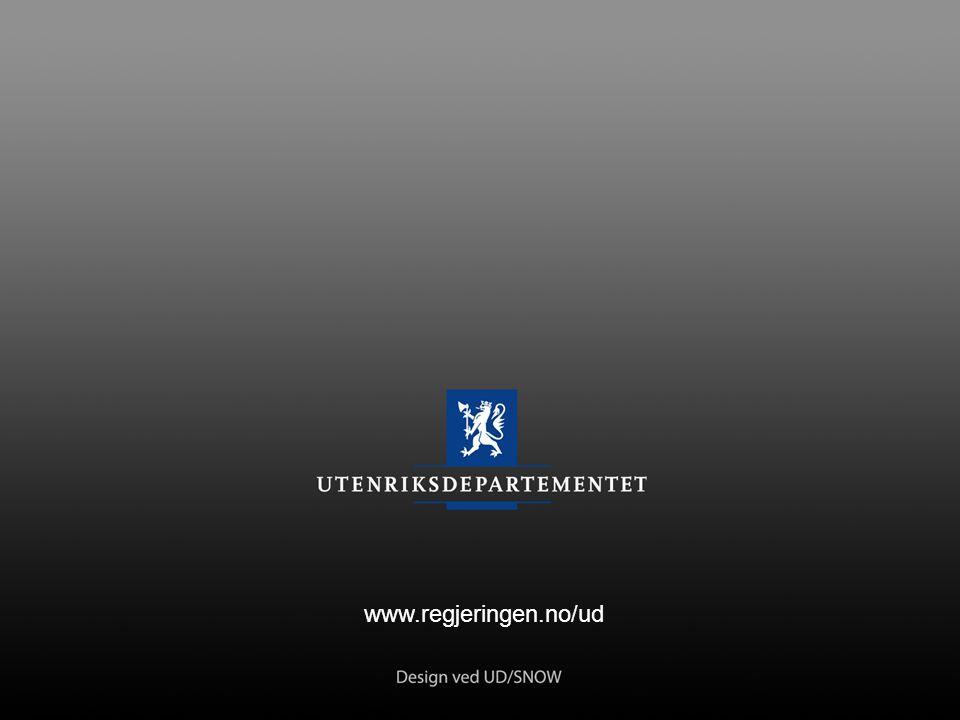 13: siste www.regjeringen.no/ud