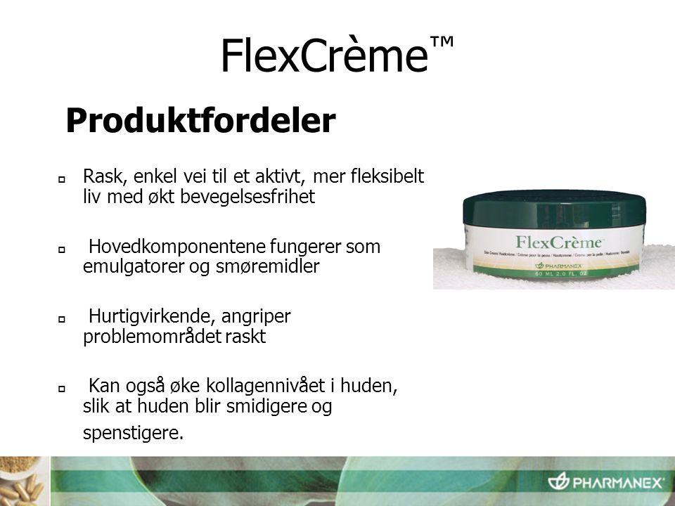 FlexCrème™ Produktfordeler