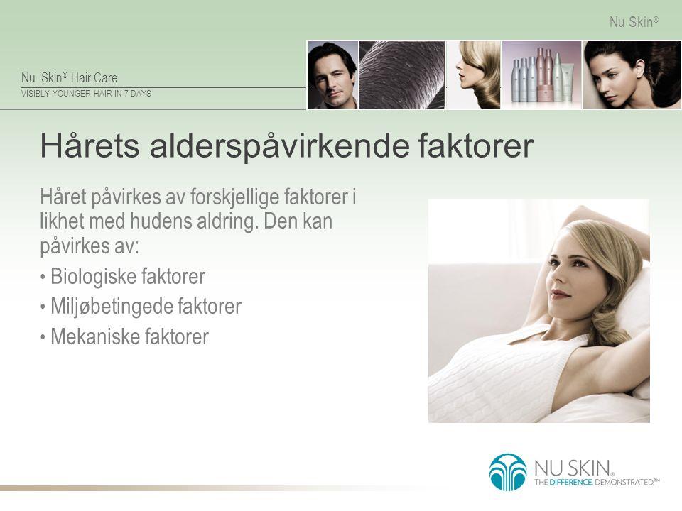 Hårets alderspåvirkende faktorer