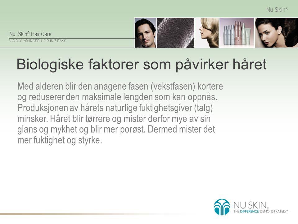 Biologiske faktorer som påvirker håret