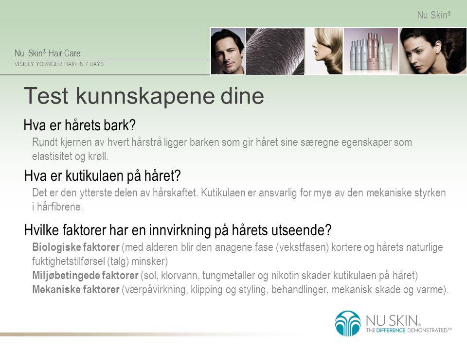 Test kunnskapene dine Hva er hårets bark Hva er kutikulaen på håret