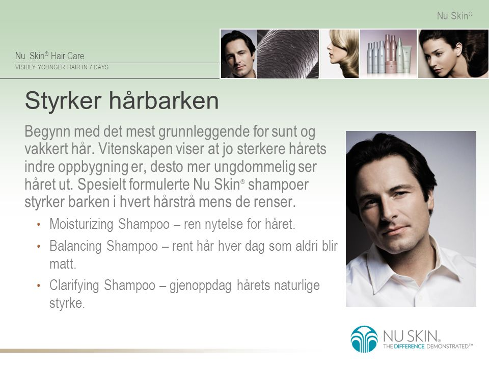 Styrker hårbarken
