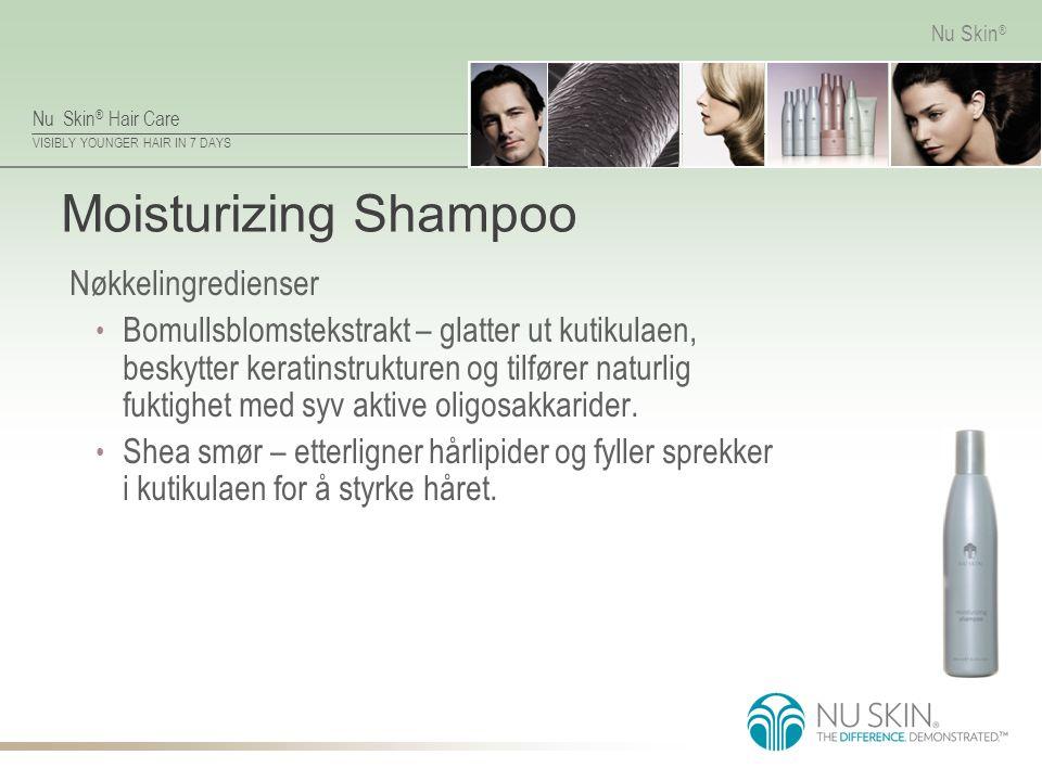 Moisturizing Shampoo Nøkkelingredienser