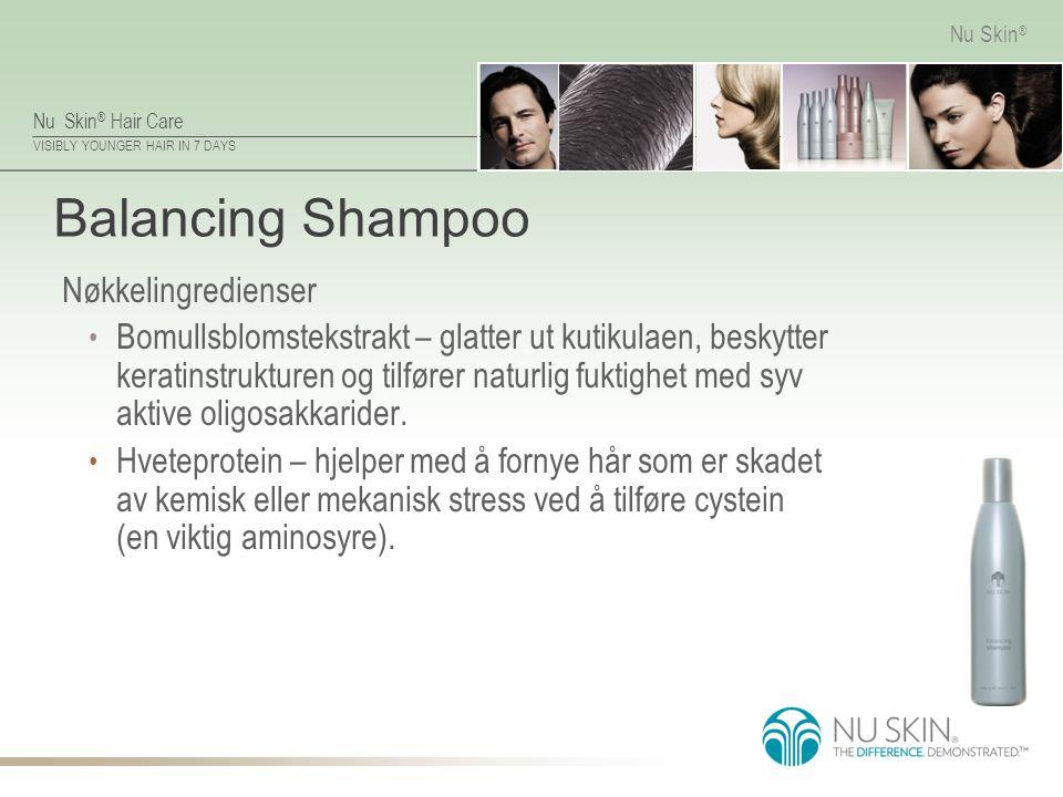 Balancing Shampoo Nøkkelingredienser