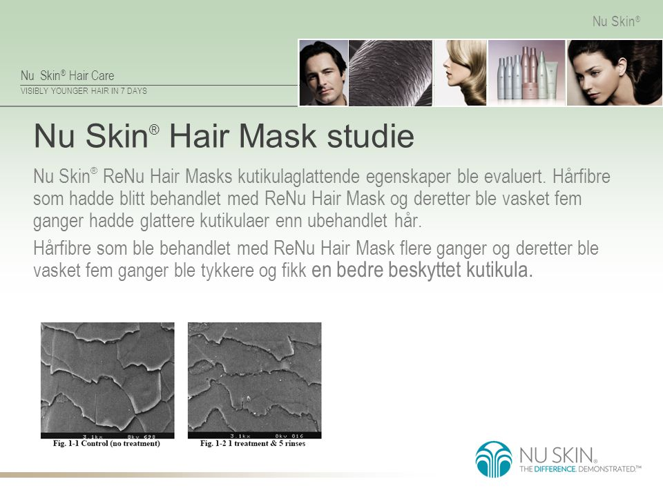 Nu Skin® Hair Mask studie