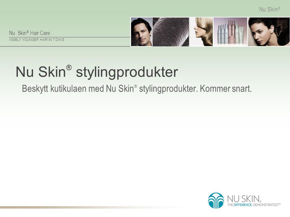 Nu Skin® stylingprodukter