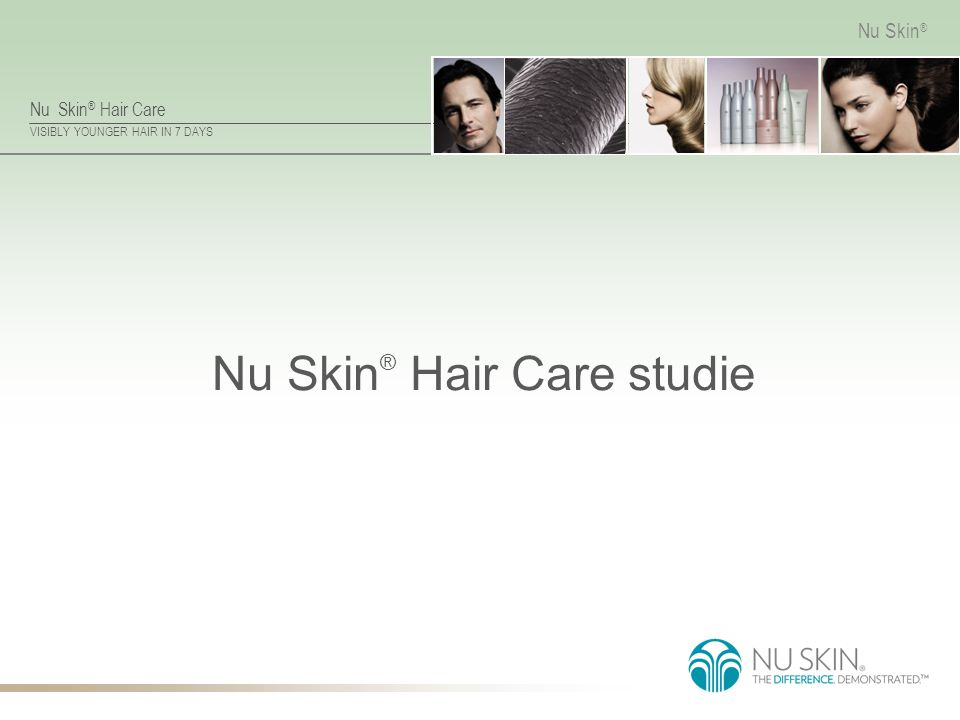 Nu Skin® Hair Care studie