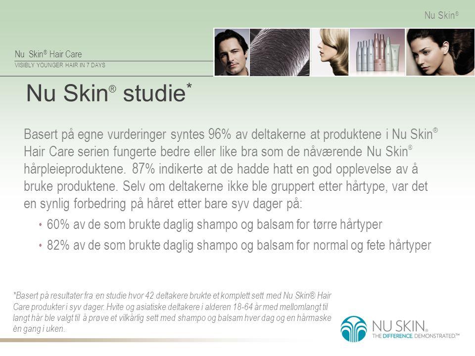 Nu Skin® studie*