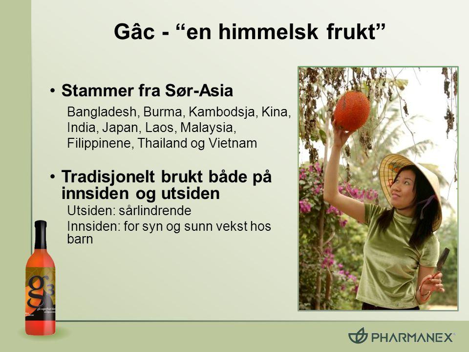 Gâc - en himmelsk frukt