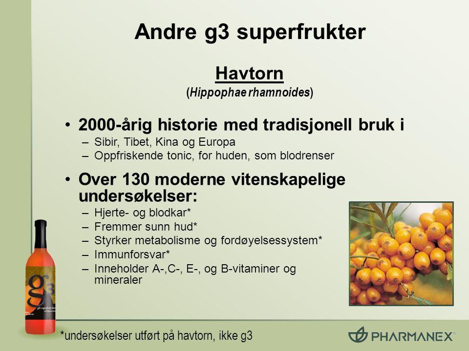 (Hippophae rhamnoides)
