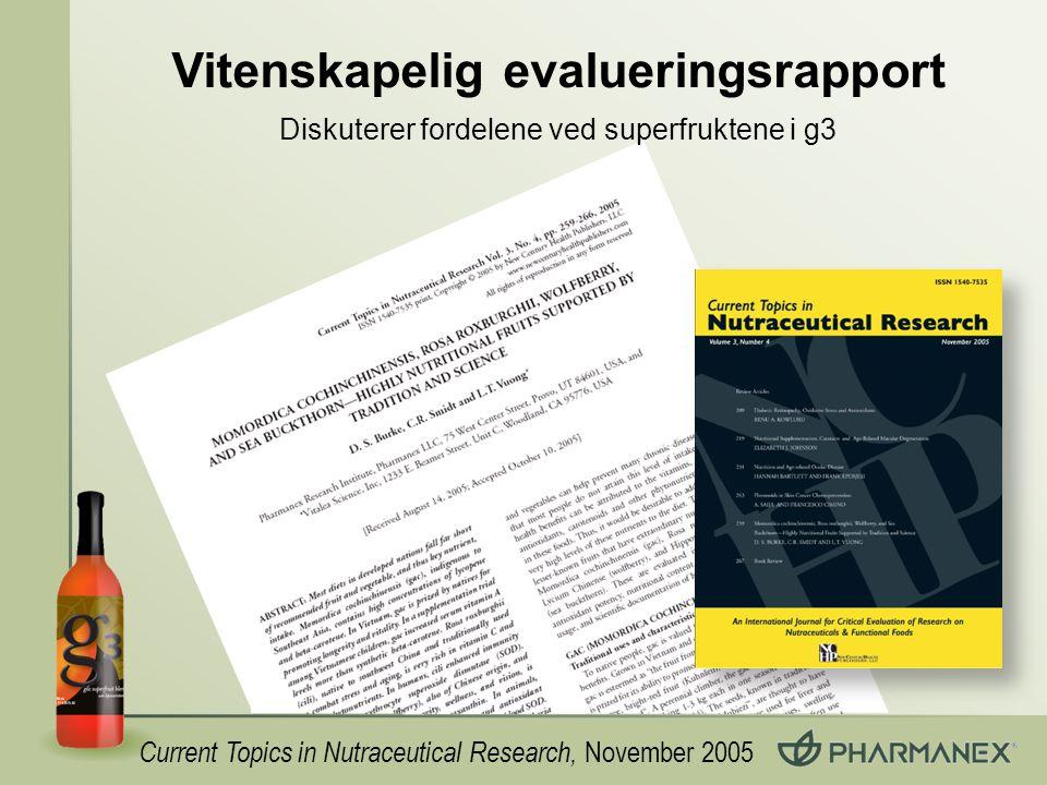 Vitenskapelig evalueringsrapport