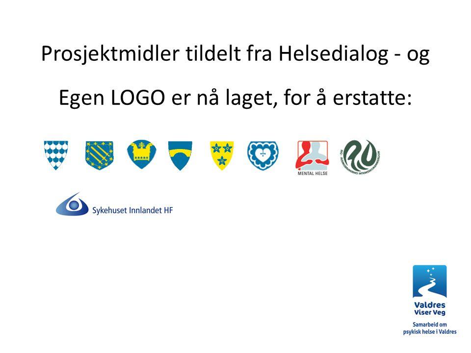 Prosjektmidler tildelt fra Helsedialog - og Egen LOGO er nå laget, for å erstatte:
