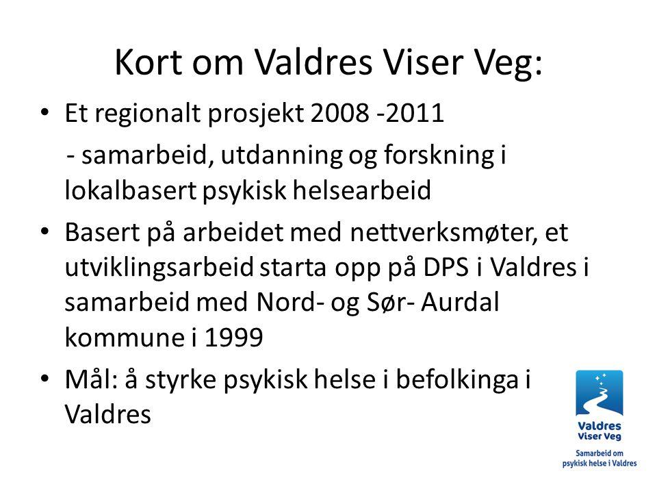 Kort om Valdres Viser Veg: