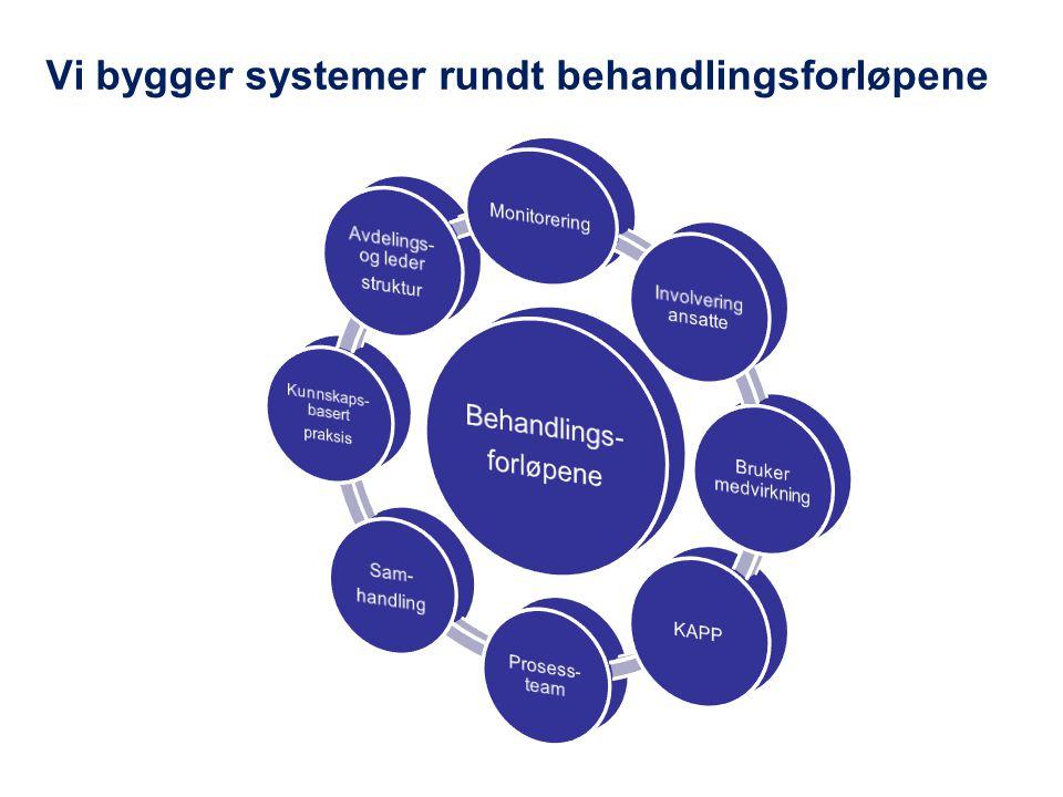 Vi bygger systemer rundt behandlingsforløpene