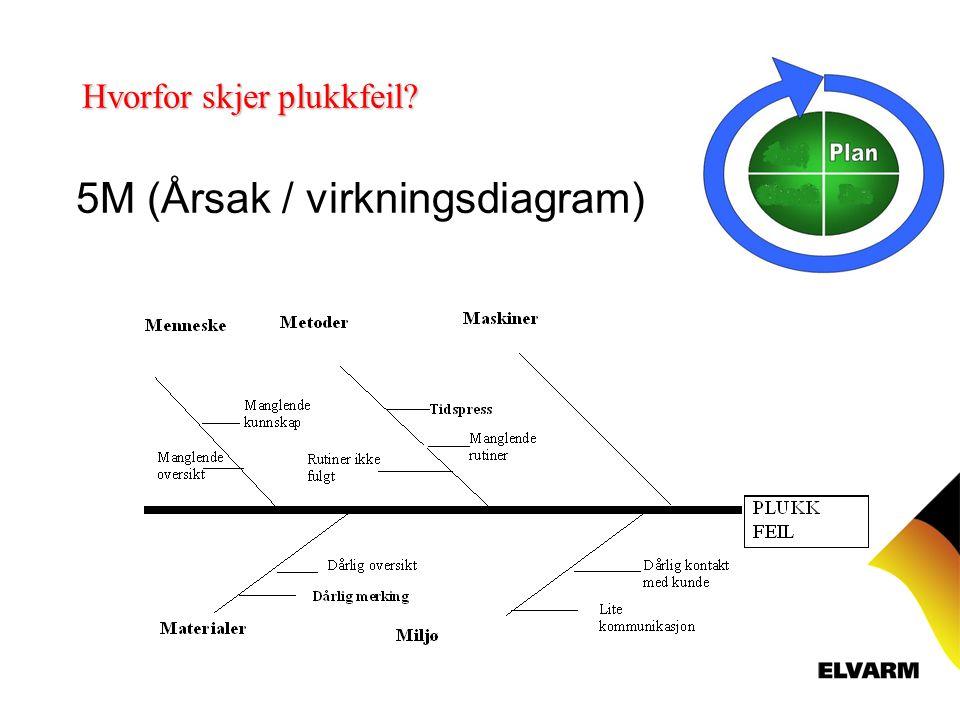 5M (Årsak / virkningsdiagram)