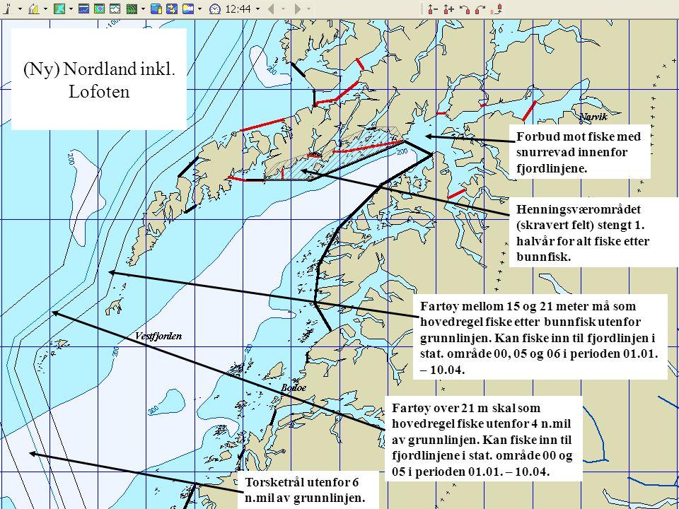 (Ny) Nordland inkl. Lofoten