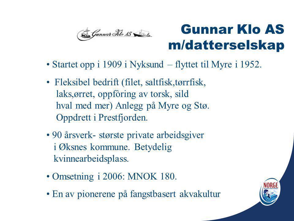 Gunnar Klo AS m/datterselskap