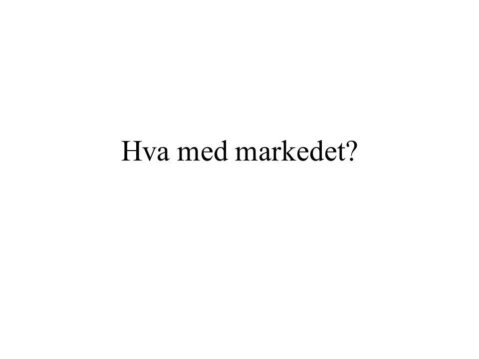 Hva med markedet