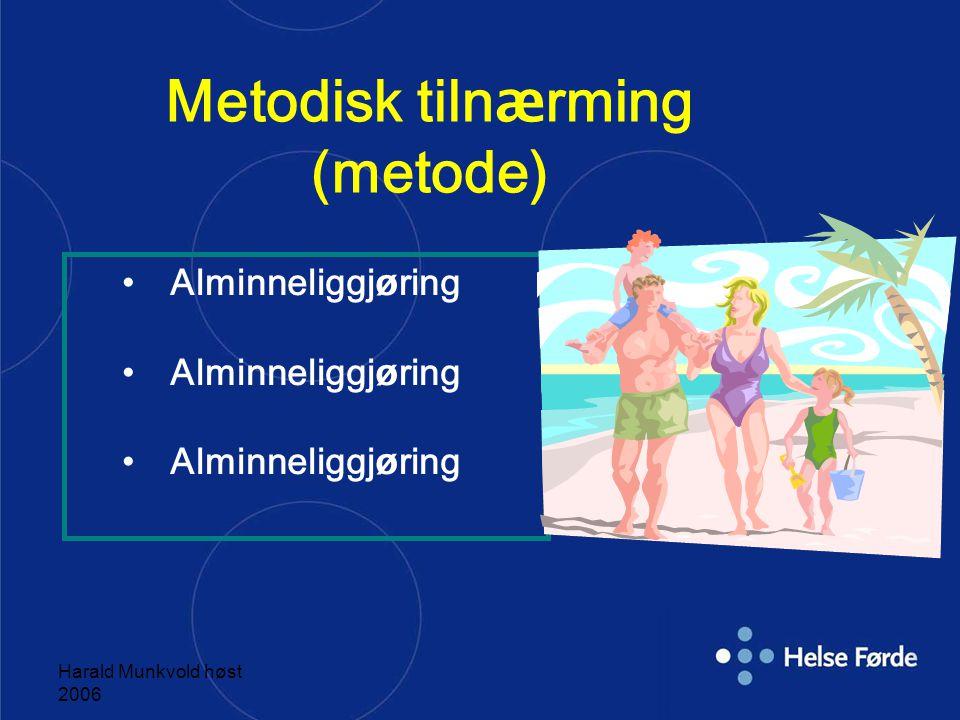 Metodisk tilnærming (metode)