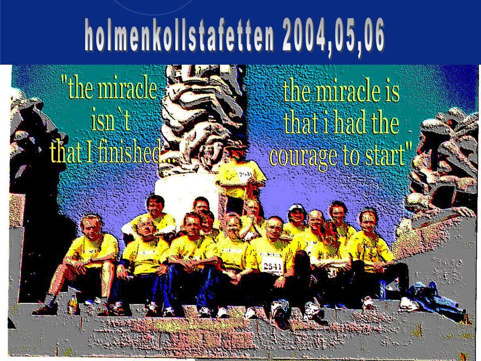 holmenkollstafetten 2004,05,06 Harald Munkvold høst 2006