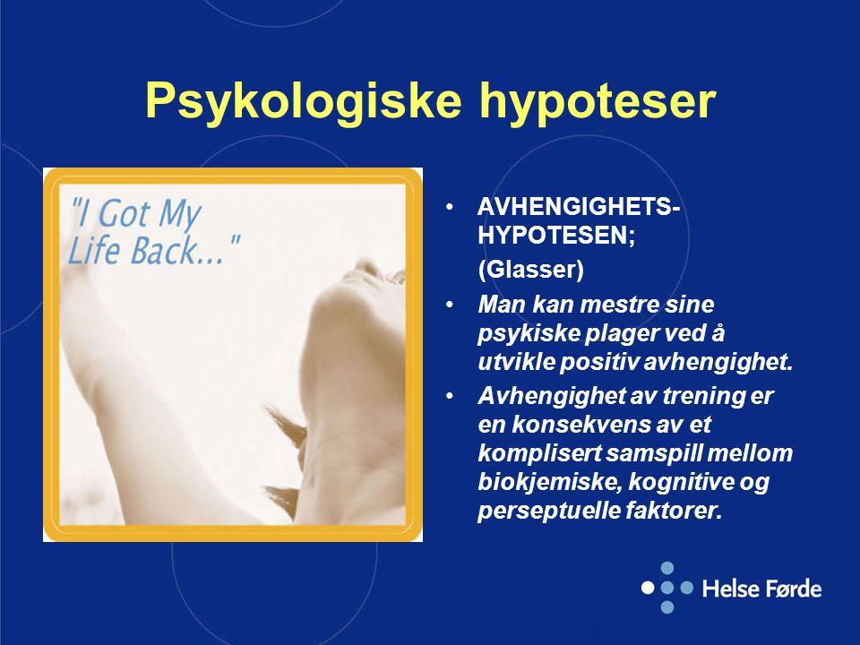 Psykologiske hypoteser