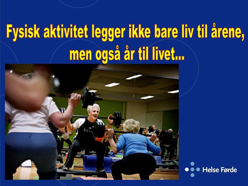 Fysisk aktivitet legger ikke bare liv til årene,