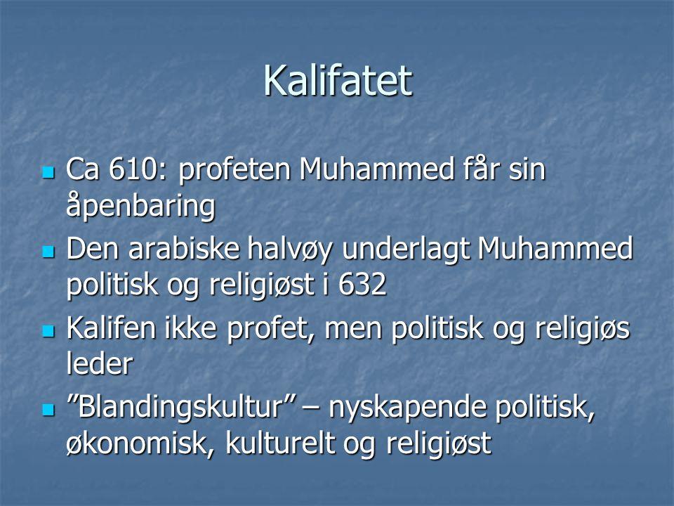 Kalifatet Ca 610: profeten Muhammed får sin åpenbaring