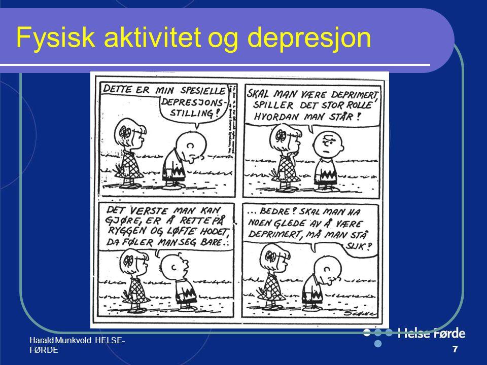 Fysisk aktivitet og depresjon