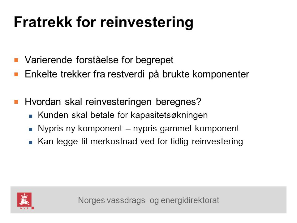 Fratrekk for reinvestering