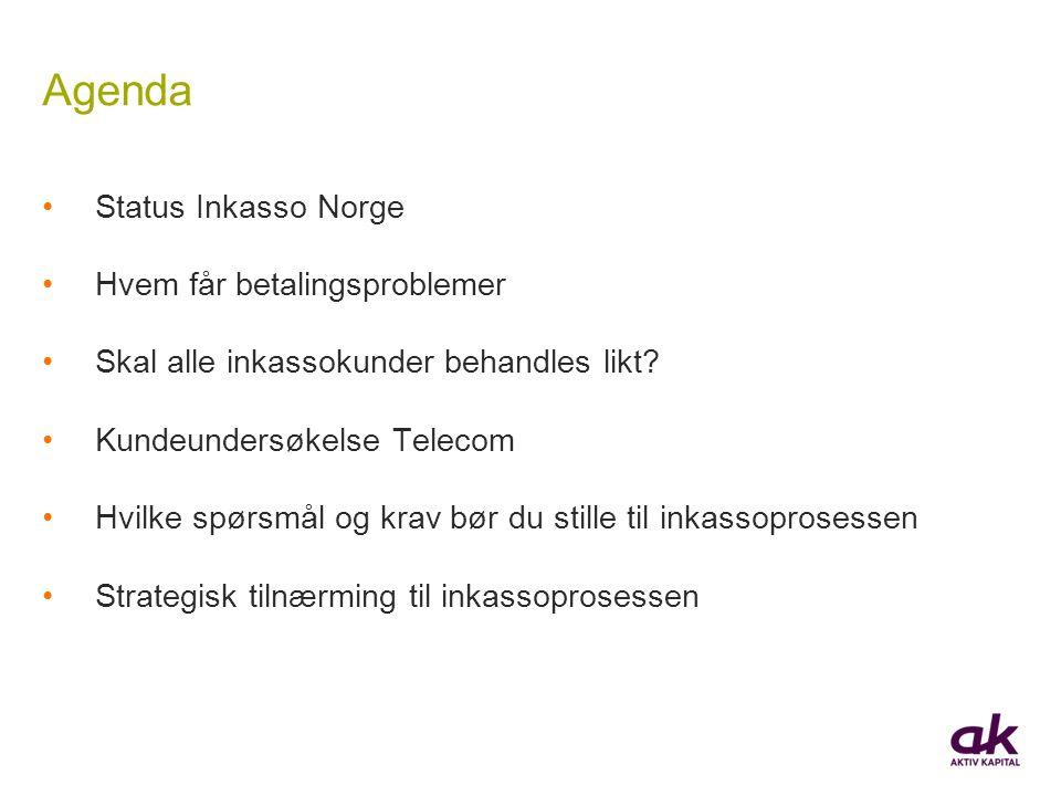 Agenda Status Inkasso Norge Hvem får betalingsproblemer