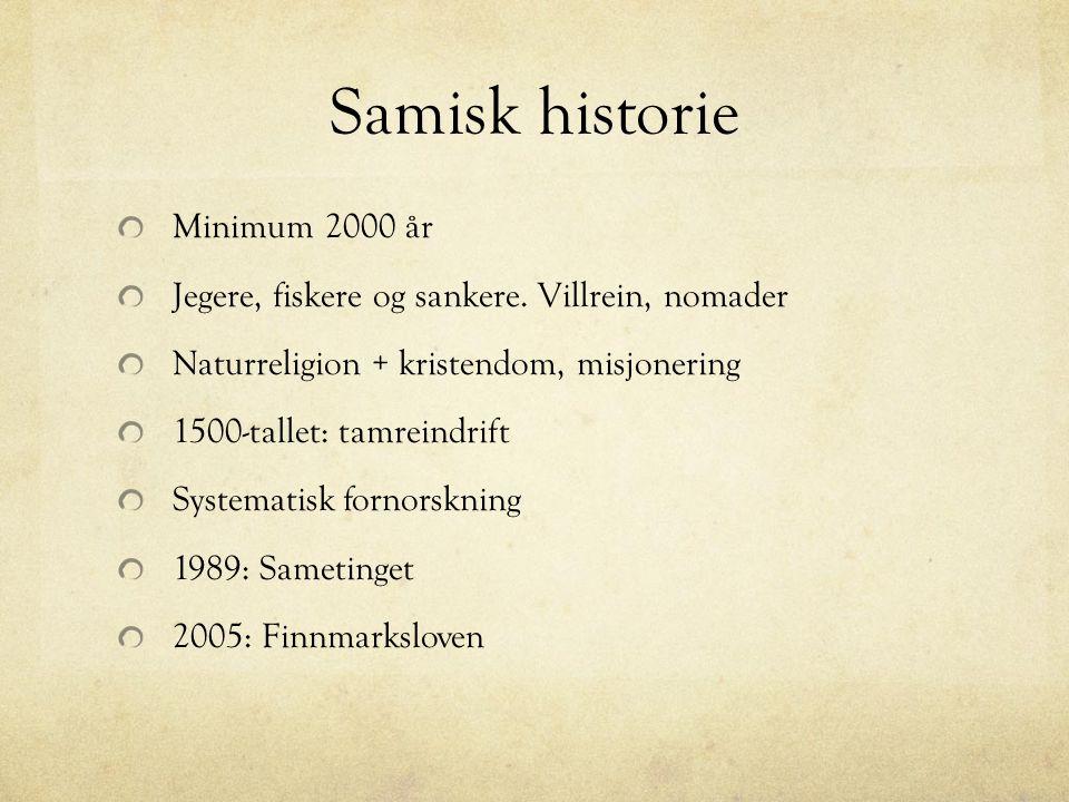 Samisk historie Minimum 2000 år