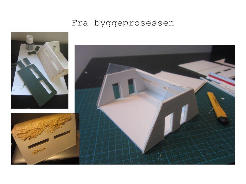 Fra byggeprosessen