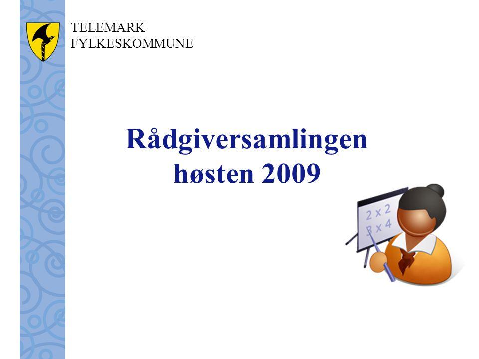 Rådgiversamlingen høsten 2009