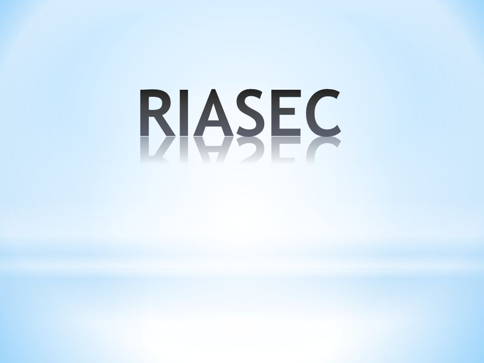 RIASEC