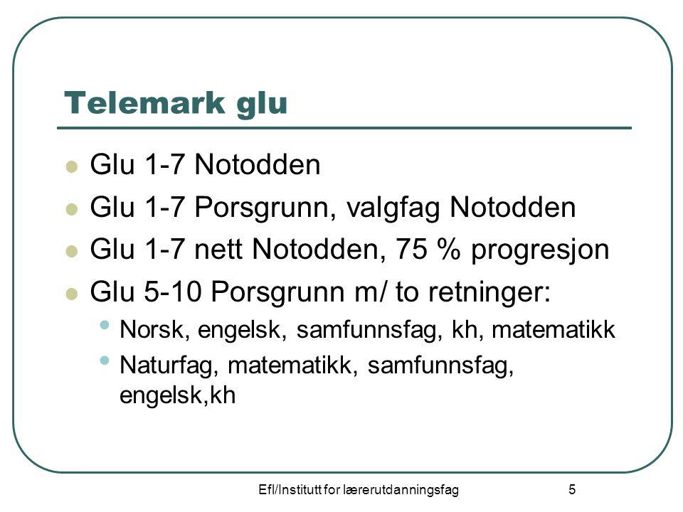 Efl/Institutt for lærerutdanningsfag