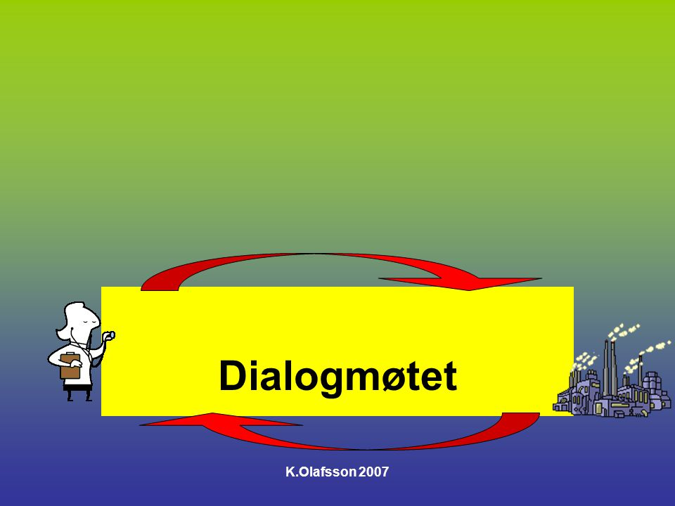 Dialogmøtet K.Olafsson 2007