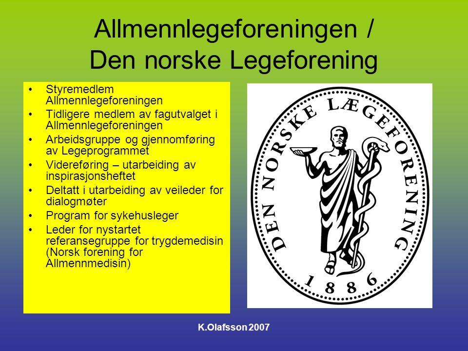 Allmennlegeforeningen / Den norske Legeforening