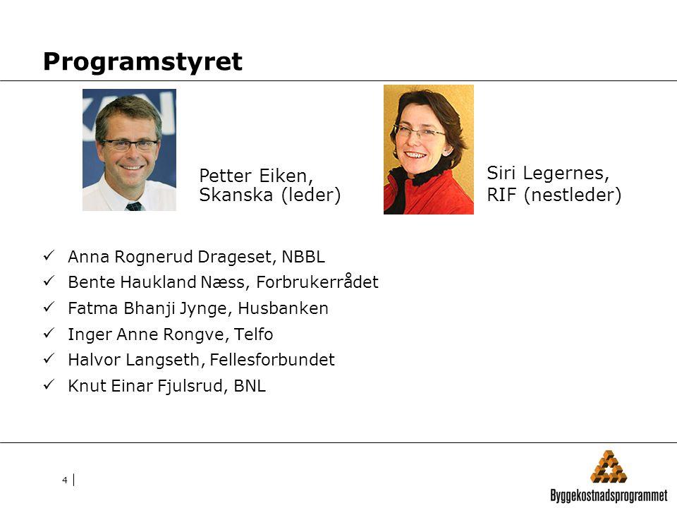 Programstyret Siri Legernes, RIF (nestleder)