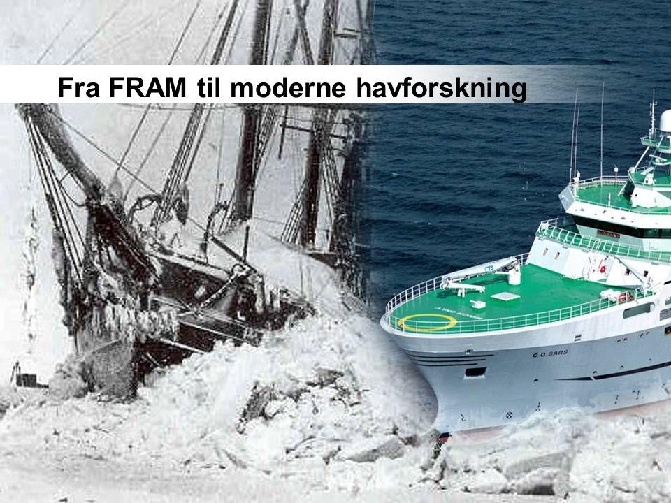 Fra FRAM til moderne havforskning