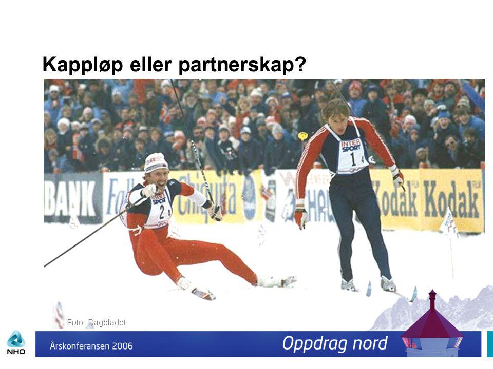 Kappløp eller partnerskap