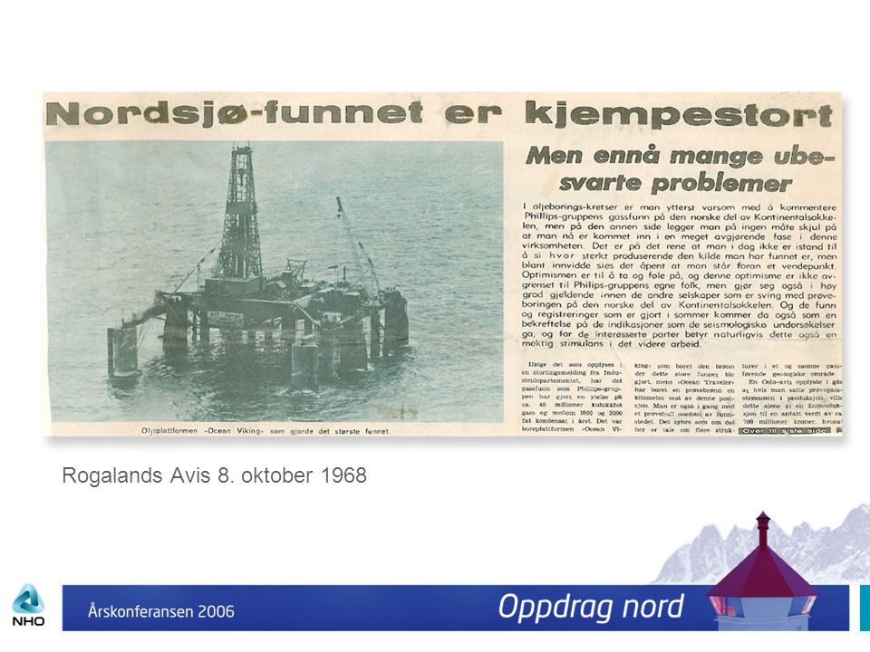Rogalands Avis 8. oktober 1968